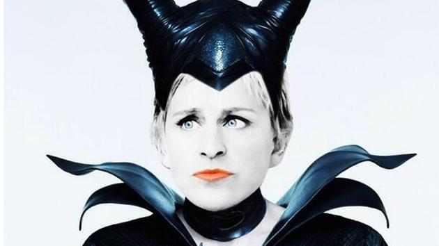 Ellen DeGeneres pitches 'Elleficent' sequel to Maleficent
