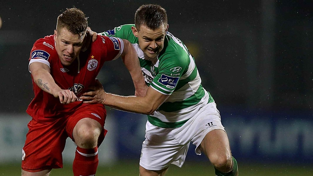 Sligo Rovers and Shamrock Rovers do battle at 3pm