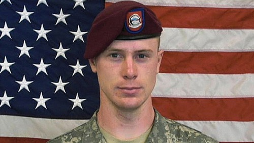 Sgt Bowe Bergdahl arrived on a flight from Germany to San Antonio, Texas