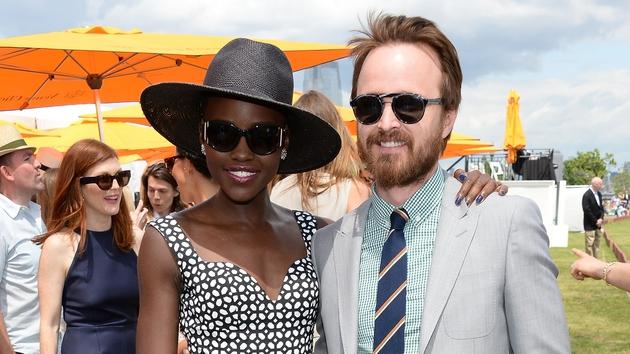 Lupita Nyong'o and Aaron Paul