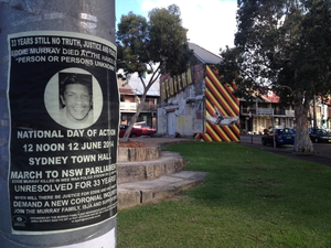 Picture showing the difficulties  aboriginals face in Redfern as National Reconciliation Week takes place in Australia
