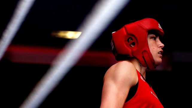 Katie Taylor is on course to meet her London Olympic final opponent Sofya Ochigava