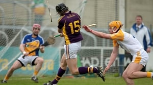 Wexford's Liam Og McGovern finds the back of the net