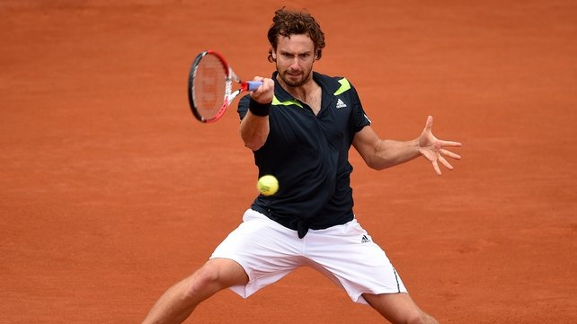 Ernest Gulbis will play Tomas Berdych in the last eight at Roland Garros