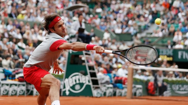 It was Roger Federer's worst result at Roland Garros since 2004