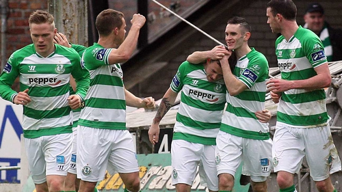The win sees Shamrock Rovers move up to third place on 31 points