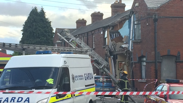 Man injured in Dublin after an explosion at a house