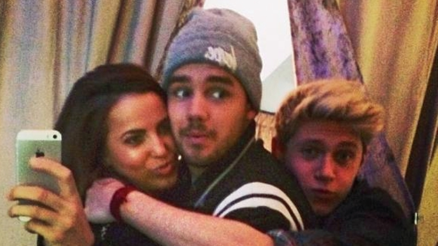 Liam shared the snap with Sophia to his Instagram account