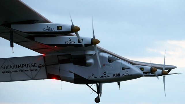 Solar Impulse two carried out a flight lasting two hours and 15 minutes
