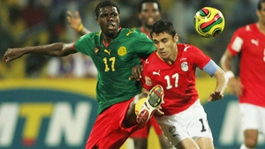 Mohammadou Idrissou (l) misses out on selection