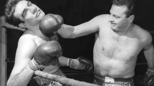 Connery takes a blow in Requiem for a Heavyweight. Picture courtesy of the BBC