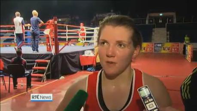 Clare Grace is only the second Irish woman after Katie Taylor to win a European Championship medal in