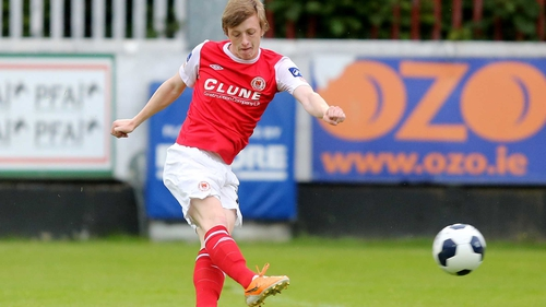 Chris Forrester has left the League of Ireland to join Peterborough United
