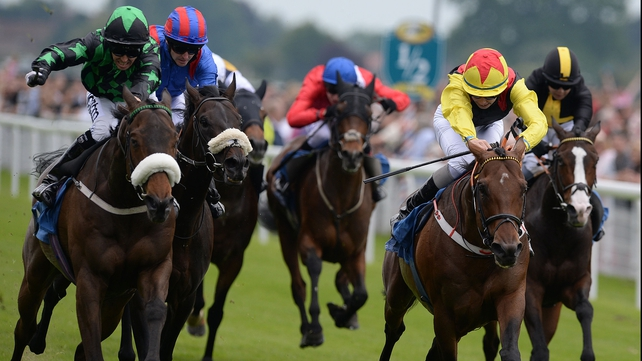 Clever Cookie (left) could run twice at York