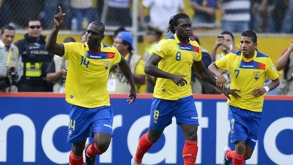 Segundo Castillo (left) is in Ecuador's World Cup squad.