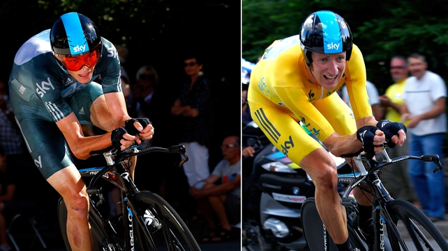 Chris Froome and Bradley Wiggins will compete in different warm-up events prior to Le Tour