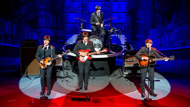 The show features classic Beatle's tunes