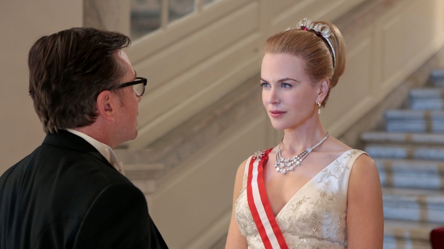 The film sees Grace Kelly and Prince Rainier III go through a marriage crisis in the midst of a political dispute.