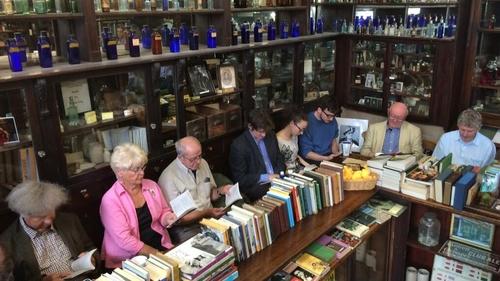 Sweny's holds daily readings of Joyce novels