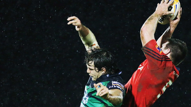 McCarthy (l) will be replaced in the squad by Munster's Billy Holland (r)