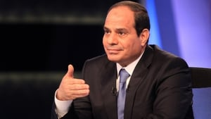 President Abdel Fattah al-Sisi won a landslide election in March