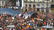 Protests in Spain following abdication of King Juan Carlos