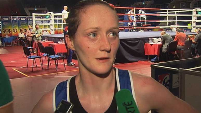 Ceire Smyth was beaten in her flyweight bout by Turkey's Nur Caskun