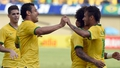 Neymar on fire in Brazil win