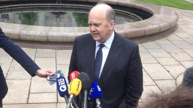 Michael Noonan told the Dáil the decision had been taken after a Cabinet discussion yesterday