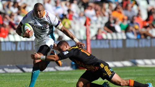 Cornal Hendricks in action for the Toyota Cheetahs