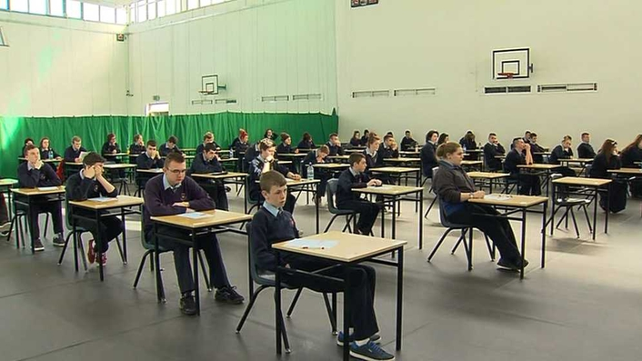Results day for Leaving Cert students