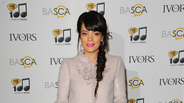 Lily Allen revealed her new song on SoundCloud, describing it as her 'unofficial World Cup song'.