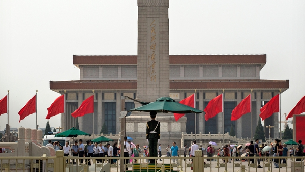 Tiananmen Square in Beijing today