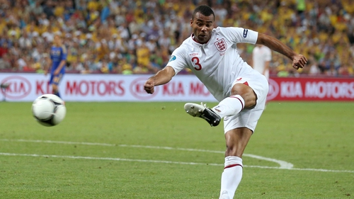 Ashley Cole won 107 caps for England