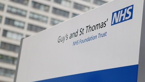 Contaminated food is being blamed for the death of a baby at London's Guy's and St Thomas' Hospital