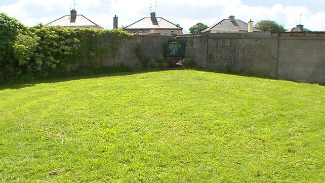 The examination follows reports of an unmarked mass grave at the former mother-and-baby home