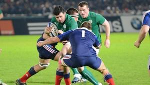 Rory Burke will start for Ireland U20s at tighthead