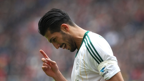 Emre Can's transfer had been delayed by complications relating to a buy-back clause held by his previous club, Bayern Munich