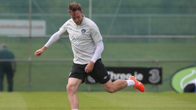 Richard Keogh thanked the Ireland management for the encouragement they had given him