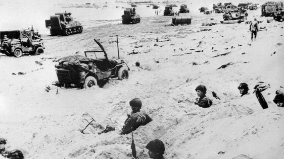 American Troops at D-Day