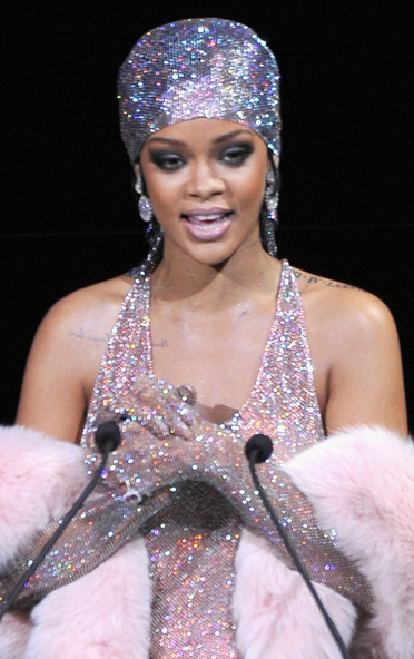 Rihanna was honoured with the Fashion Icon Award at the Council of Fashion Designers of America Awards.