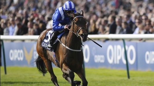Taghrooda achieved a wide-margin victory in the Pretty Polly Stakes despite slow early fractions at Newmarket