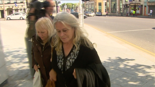 Vera McGrath (foreground) will not serve any further time in jail as she had already served time for a murder conviction