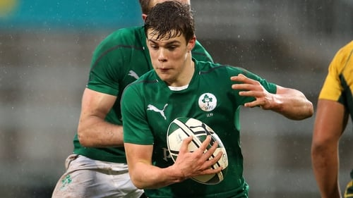 Gary Ringrose ran in two tries for Ireland U20s