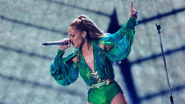 JLO returned to her hometown for a free 90-minute concert.