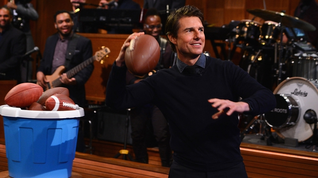 Tom Cruise plays Face Breakers with Jimmy Fallon
