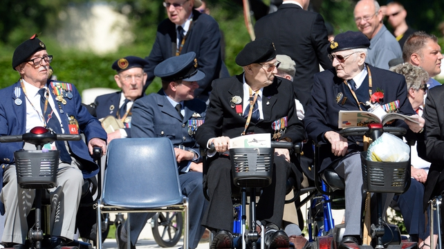 Hundreds of veterans of the invasion are attending the ceremonies to mark D-Day in France