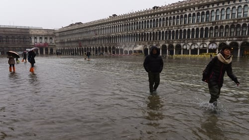 The bribes relate to a flood barrier in venice