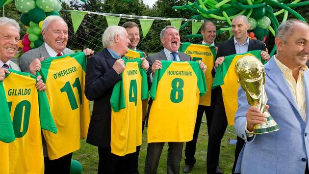 The RTÉ World Cup team