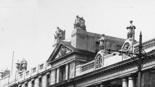 Leinster House in 1933